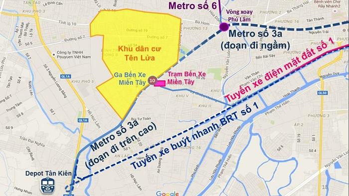 Tuyến Metro Số 3A & Tuyến Metro Số 6