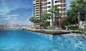 Hồ bơi Sky View tại căn hộ Boulevard