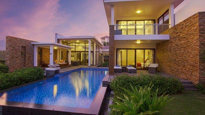 Tại Mystery Villas mỗi biệt thự điều có 1 hồ bơi riêng