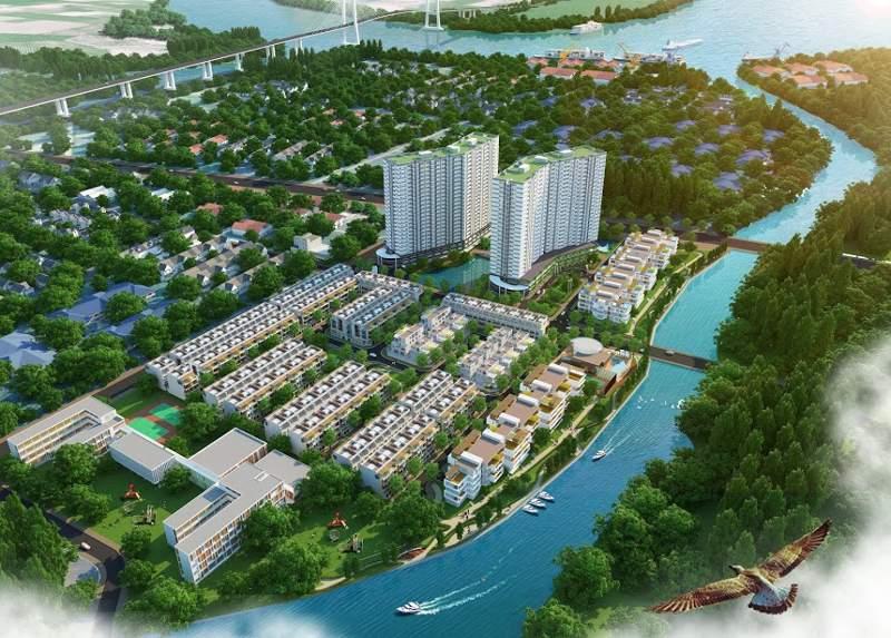 Những dự án căn hộ view sông tuyệt đẹp ờ Quận 7 ryryegdvsdvdsb