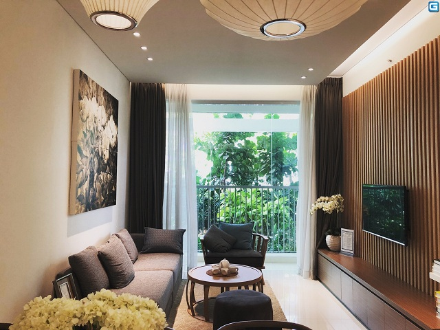 Căn hộ Habitat được thiết kế theo tiêu chuẩn Singapore hiện đại, thanh lịch