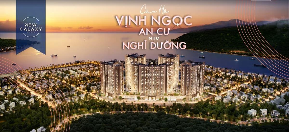 Phối cảnh dự án căn hộ căn hộ New Galaxy Nha Trang
